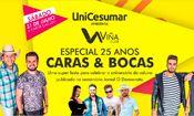 25 Anos Caras & Bocas - Viña Club