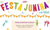 Festa Junina na Villa