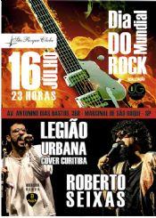 Folder do Evento: Dia Mundial do Rock