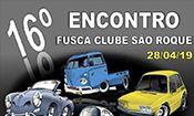 16º Encontro Fusca Clube São Roque
