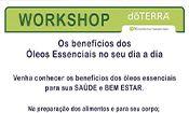 Folder do Evento: Workshop: Os benefícios dos Óleos