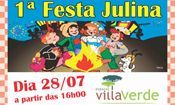 1 Festa Julina Espaço Villa Verde
