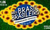 Folder do Evento: Meu Brasil Brasileiro - Domingueira