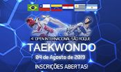 4° Open Internacional de Taekwondo