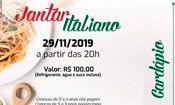 Jantar Italiano - Paróquia São Luís Gonz