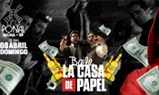 Folder do Evento: Baile La casa de Papel