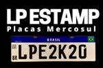 LP Estamp Placas Mercosul - São Roque