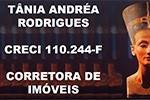 Tânia Andréa Rodrigues - Corretora de Imóveis
