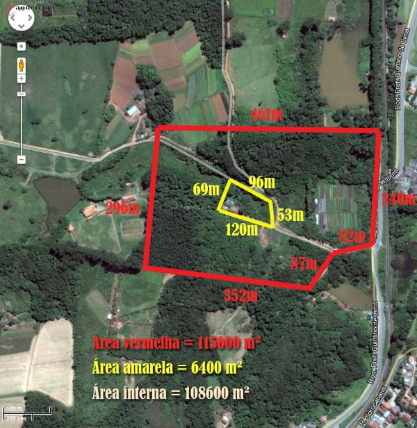 Terreno 130.000 m² - Vende  em Canguera