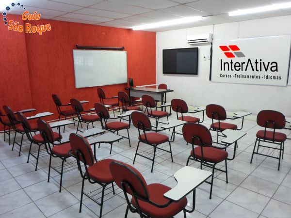 Salas para treinamentos e reuniões