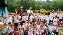 Semana Municipal de Tr�nsito mobilizou jovens da rede municipal de ensino