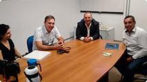 Ex-goleiro Velloso visita Ara�ariguama e faz elogios a Administra��o Roque Hoffmann