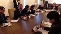Vereador Z� Camargo participa de reuni�o no Pal�cio do Governo