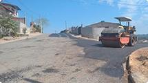 Iniciada a pavimenta��o de duas ruas no terras de S�o Jos�