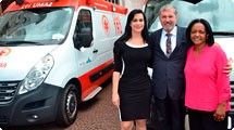 Prefeitura de Araçariguama recebe nova  ambulância para o SAMU