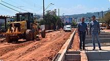 Obras da Av. Marginal foram retomadas na quarta-feira