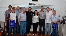 Claudio Góes visita Maylasky para discutir questões relacionadas a segurança
