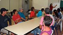 Frente de Trabalho recebe primeiro curso: Manutenção de áreas verdes