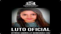 Prefeitura de Araçariguama decreta luto de 7 dias e emite nota pela morte da jovem Vitória