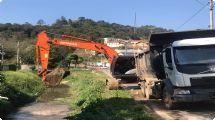 Prevenção: Prefeitura inicia cronograma de limpeza e desassoreamento dos rios de São Roque