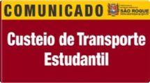 Prefeitura de São Roque abre inscrições para custeio dotransporte estudantil